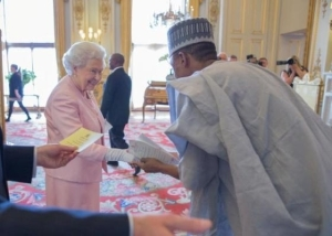 Nigerian Youngster Ahmed Adamu Meets With Queen Of England [See Photos]